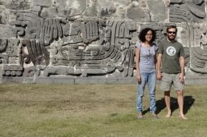 Xochicalco 90 - Pyramid of Quetzalcoatl