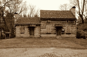 Crockett Tavern 2 - Sepia