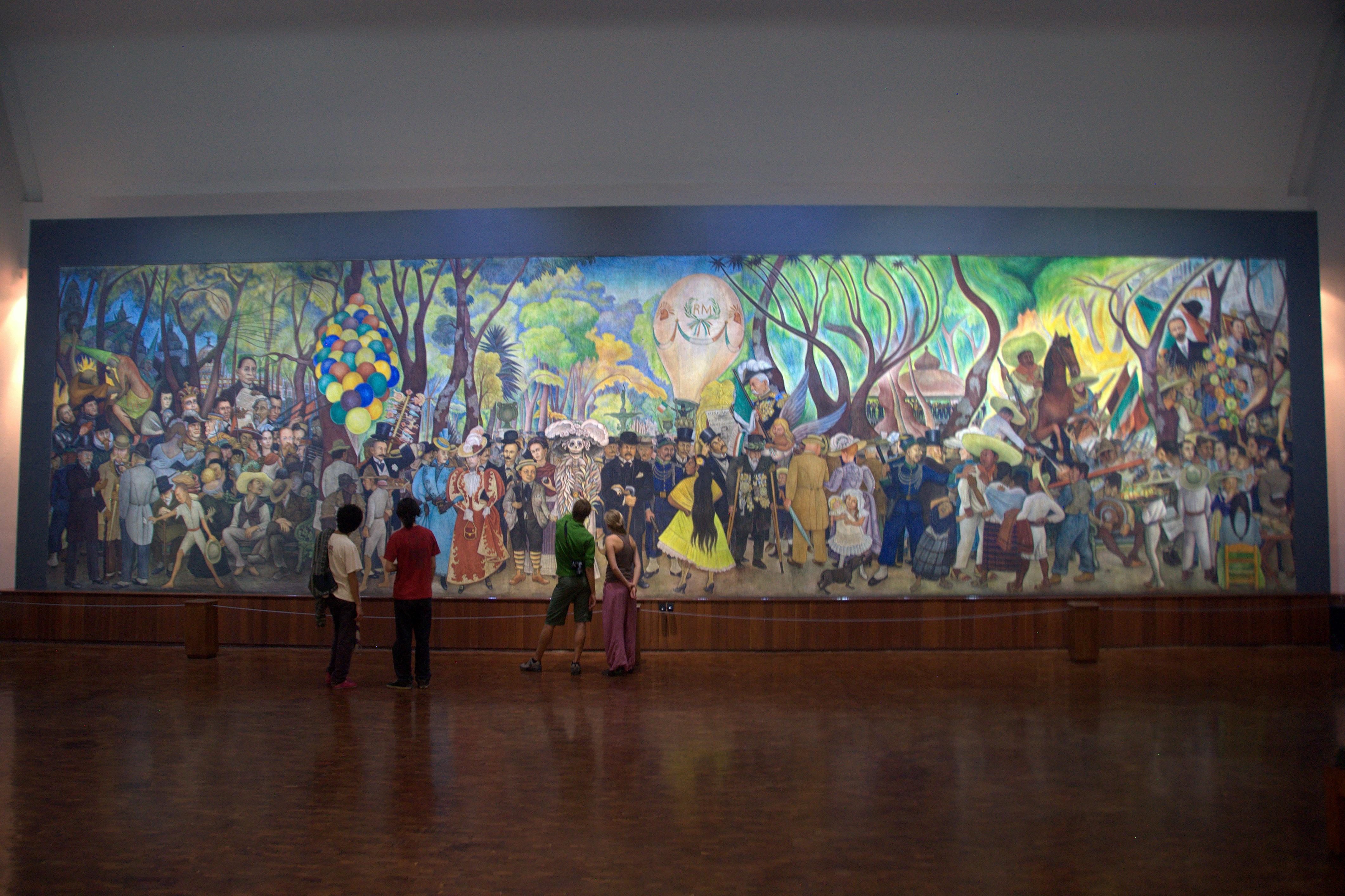 Top ten mexico city gringopotpourri for Diego rivera mural chicago
