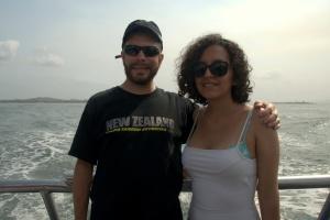 Boat ride to Islas del Rosario 33