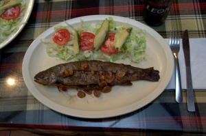 Huasca de Ocampo 25 - garlic trout