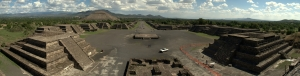 Teotihuacan panorama stitch