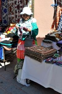 Tequis street market 4 - Otomi woman