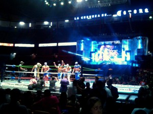 Lucha Libre 9 - from cell phone