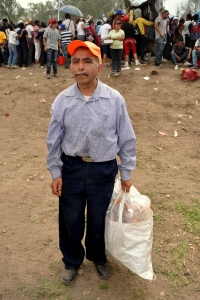 Iztapalapa Good Friday 85 - Itza resident Agustin