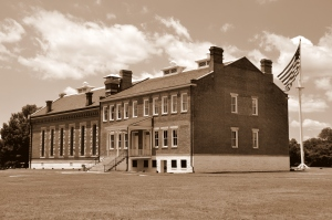 Fort Smith NHS 1 - Sepia tone
