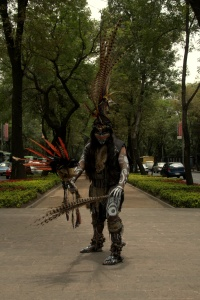 Aztec warrior 2