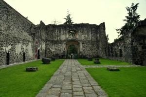 Ex-Convento de Culhuacan 12 - Panteon