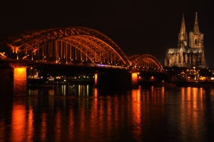 Rhine riverfront - night 3
