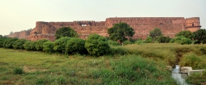 Agra Fort panorama stitch