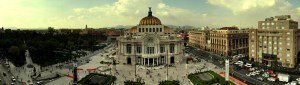 Bellas Artes panorama stitch