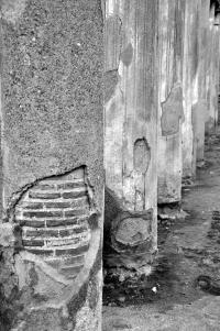 Herculaneum 137 - Casa di Aristide - filtered B&W