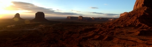 Monument Valley panorama stitch 1