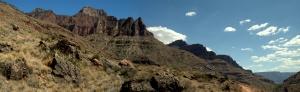 North Kaibab Trail panorama stitch