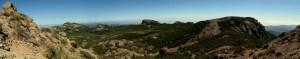 Sandstone - Tri-Peaks - Boney Mtn panorama