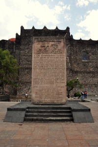 Tlatelolco 6 - memorial to massacre of October 2 1968