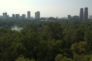 Castillo de Chapultepec 2 - view of Bosque and Polanco