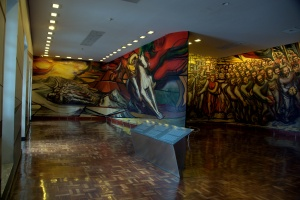 Castillo de Chapultepec 47 - The Porfirism of the Revolution - by David Alfaro Siqueiros
