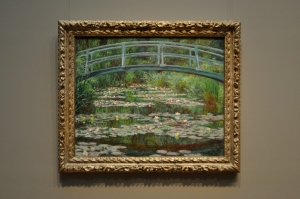National Gallery of Art 14 - The Japanese Footbridge - by Claude Monet