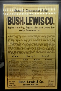Bush Beans Museum 8 - 1906 sales flyer