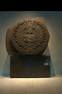 Museo Nacional de Anthropologia 78 - Aztec sun stone