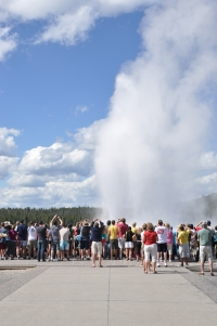 Old Faithful Geyser 4
