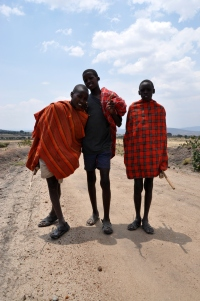 Drive to Massai Mara 1