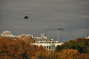 Marine One and White House 4