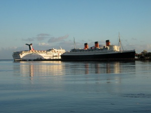 Queen Mary from LB Aquarium