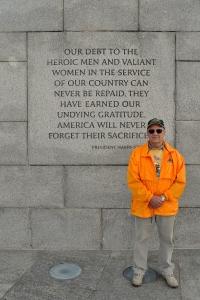 WWII Memorial 24 - Korean War Veteran