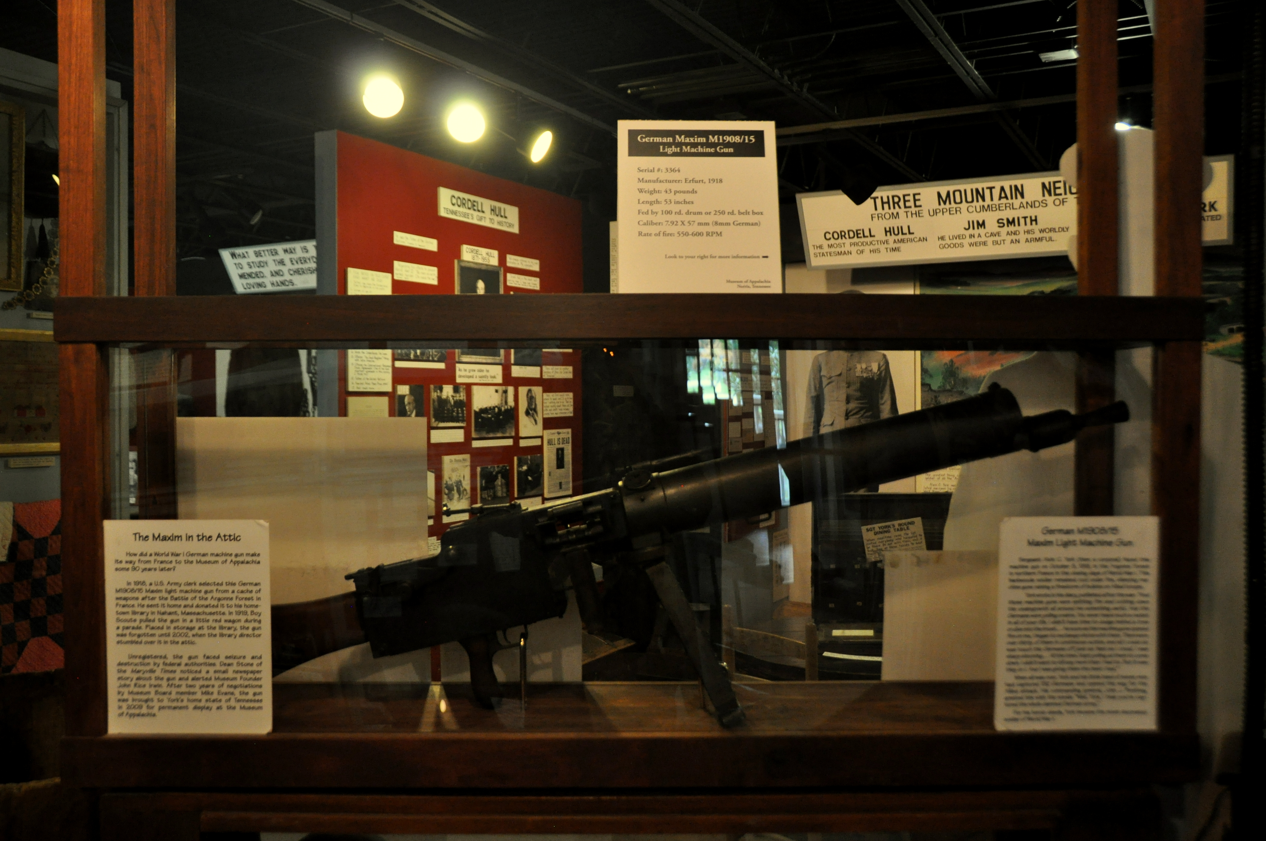 Museum Of Appalachia Wwi