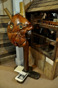 Museum of Appalachia 34 - The Devil - walnut with horse teeth