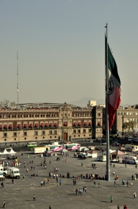 Zocalo from above 2