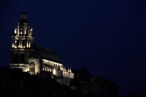 Blois 15 - view of Cathedrale Saint Louis