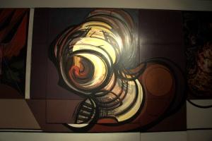 Sala de Arte Publico Siqueiros 7 - The Cry - by Siqueiros