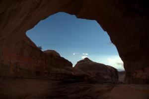 Hidden Arch hike 15
