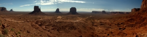 Monument Valley panorama stitch 2