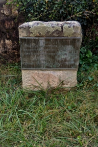 Rogers Cemetery 2 - tomb of Davy Crockett's grandparents