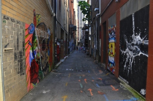 Graffiti Alley Knoxville 1